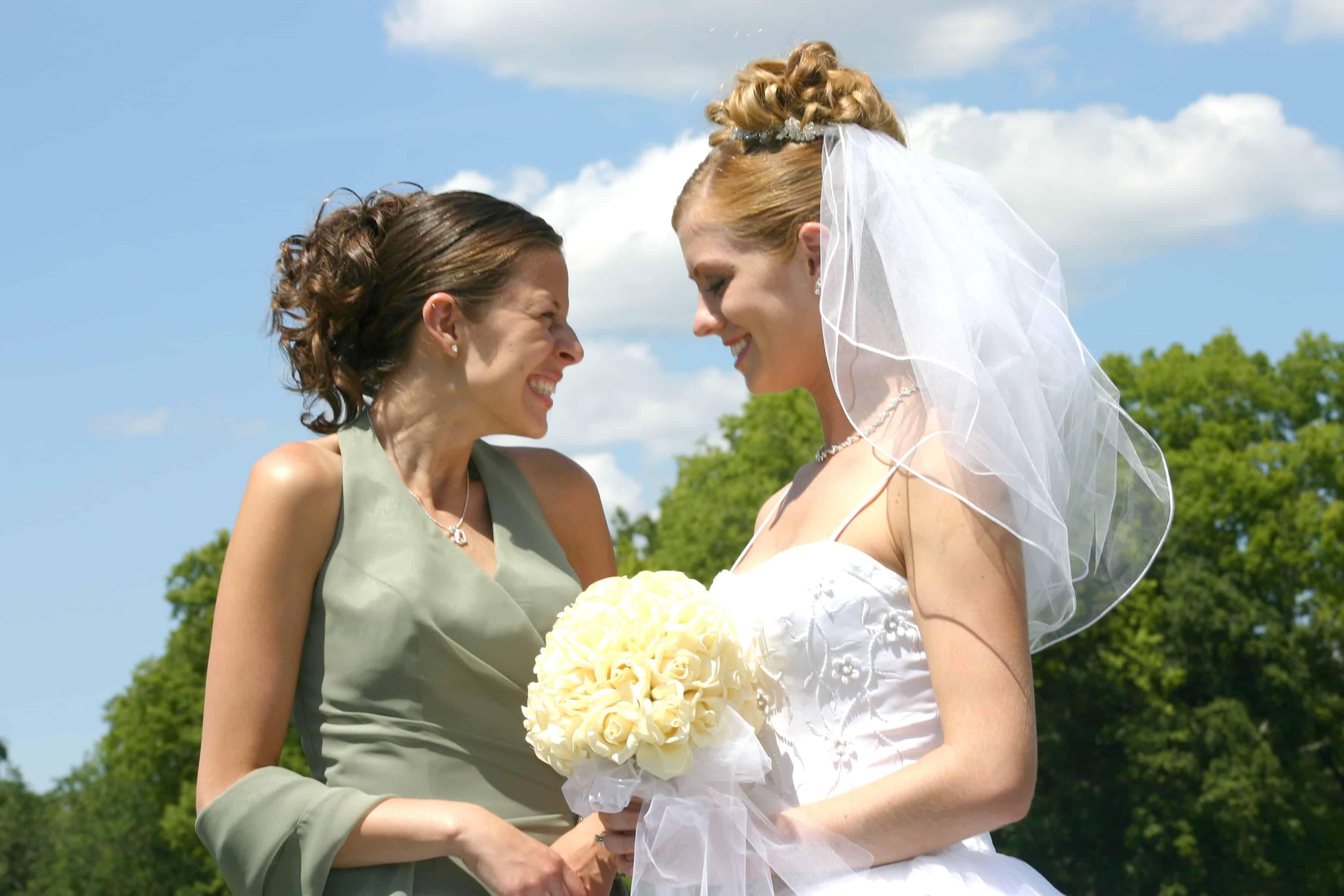Hochzeitsapp um Bilder zu teilen